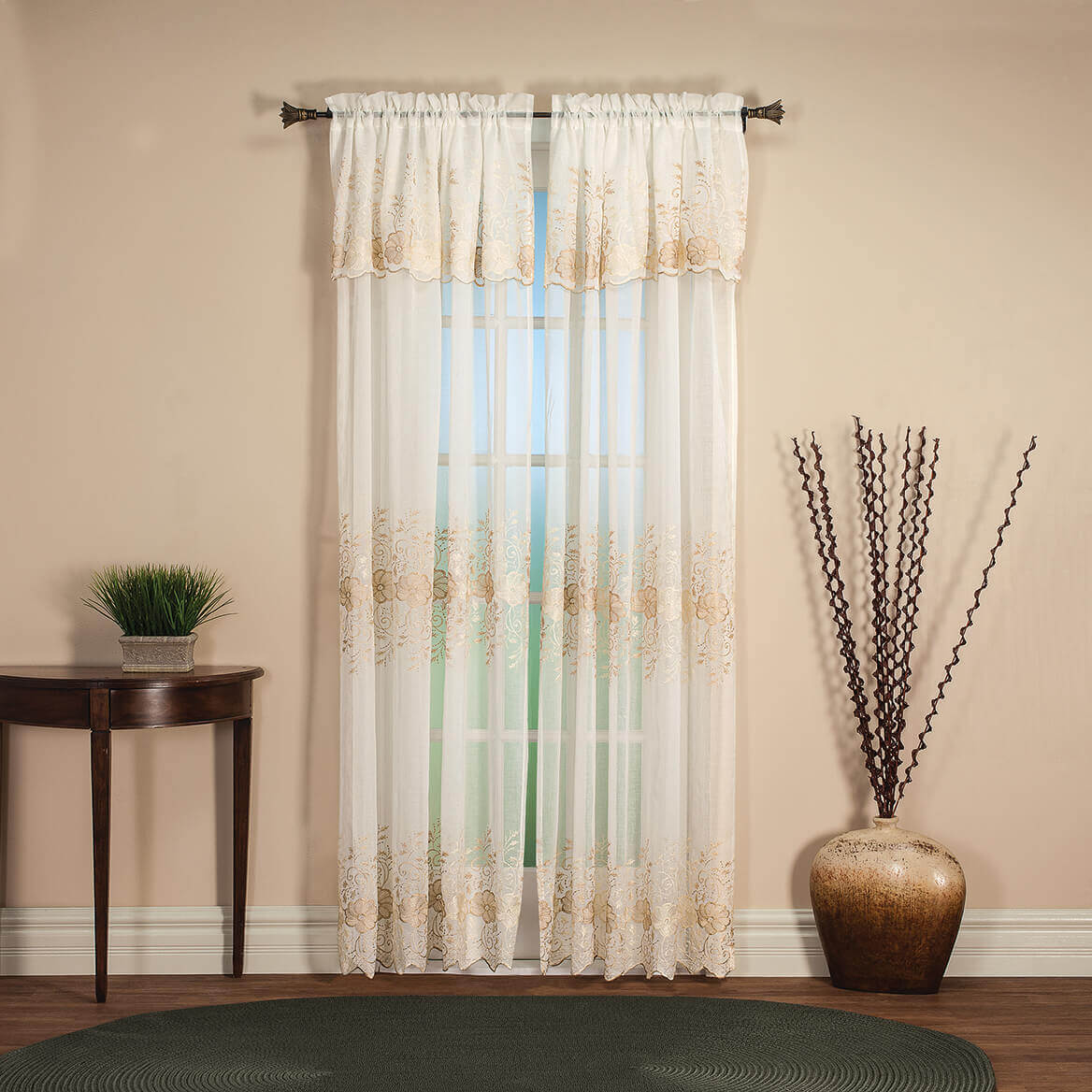 Camilla Panel with Attached Valance by OakRidge™-367629