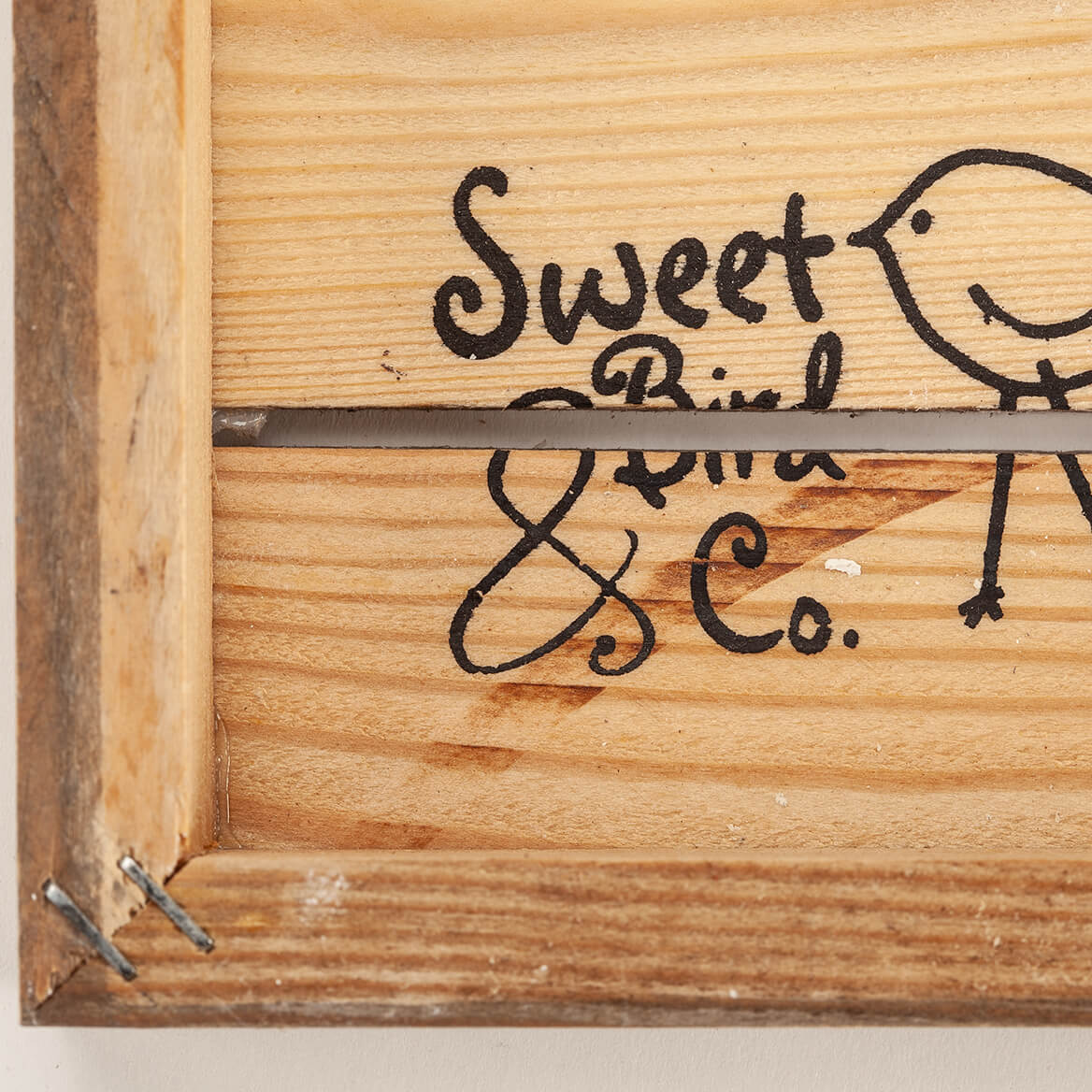 Personalized Heart and Arrows Reclaimed Wood Sign-367662