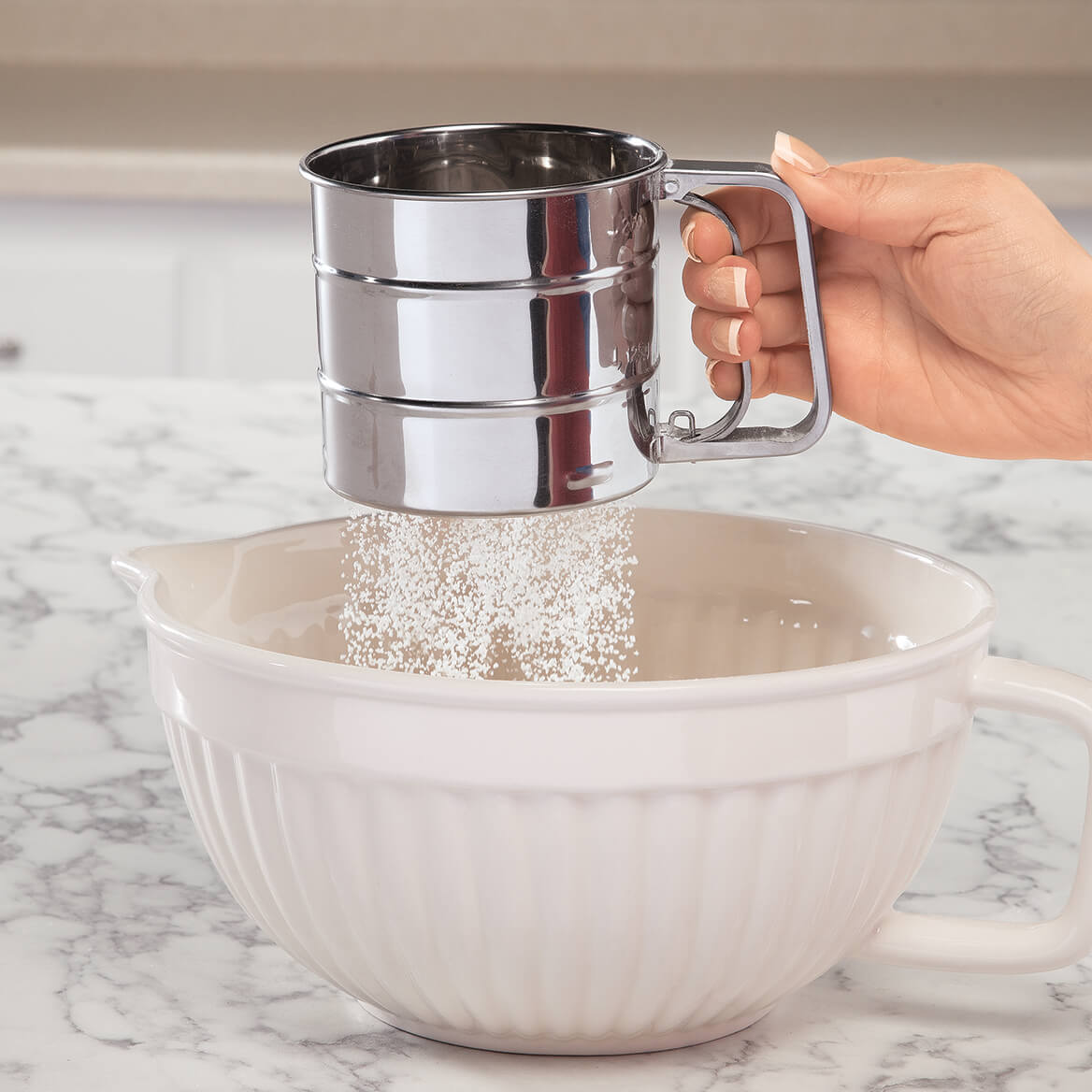 Mini Flour Sifter by Chef's Pride-367911