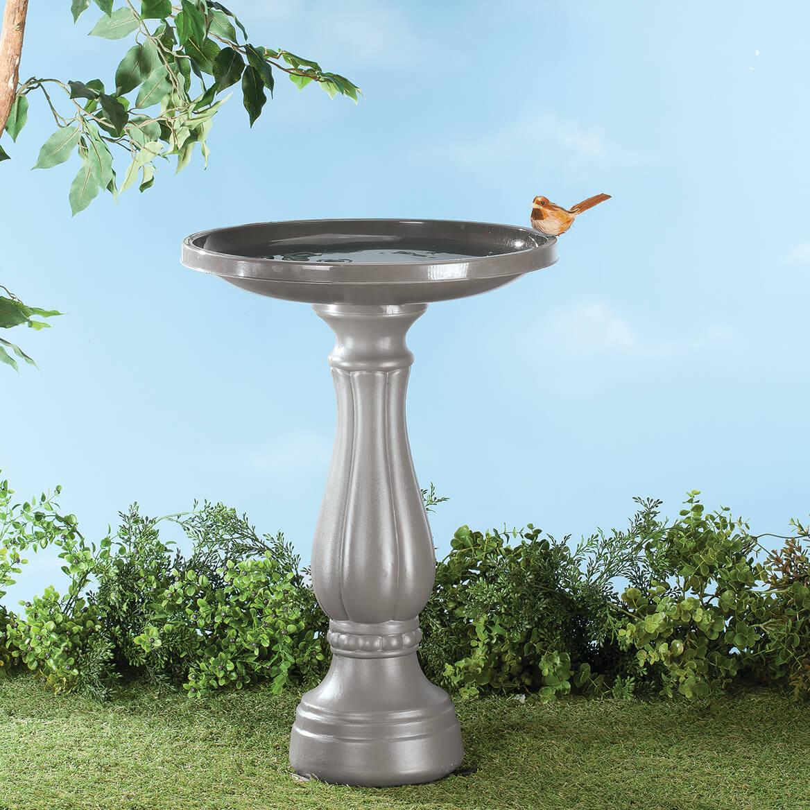 Peppercorn Bird Bath     XL-368082