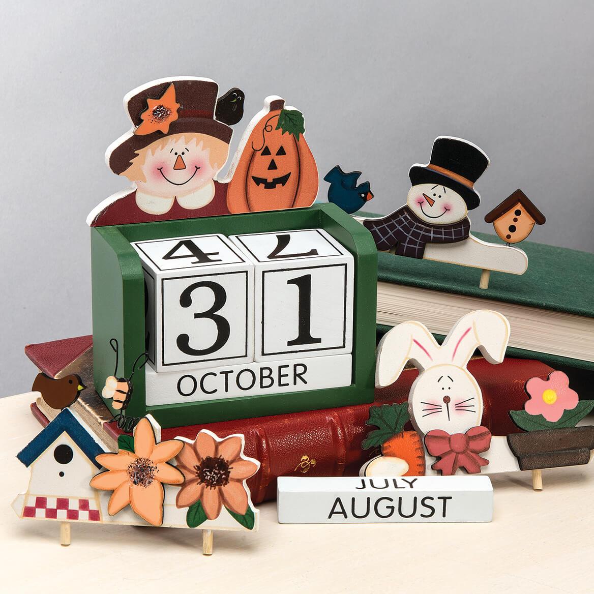 Interchangeable Seasons Perpetual Calendar-368083