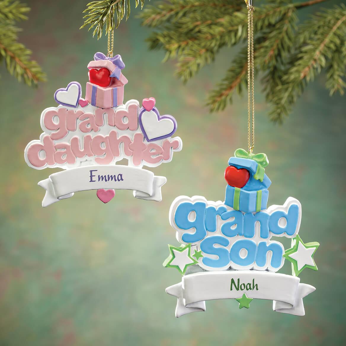 Personalized Grandson Ornament-368193