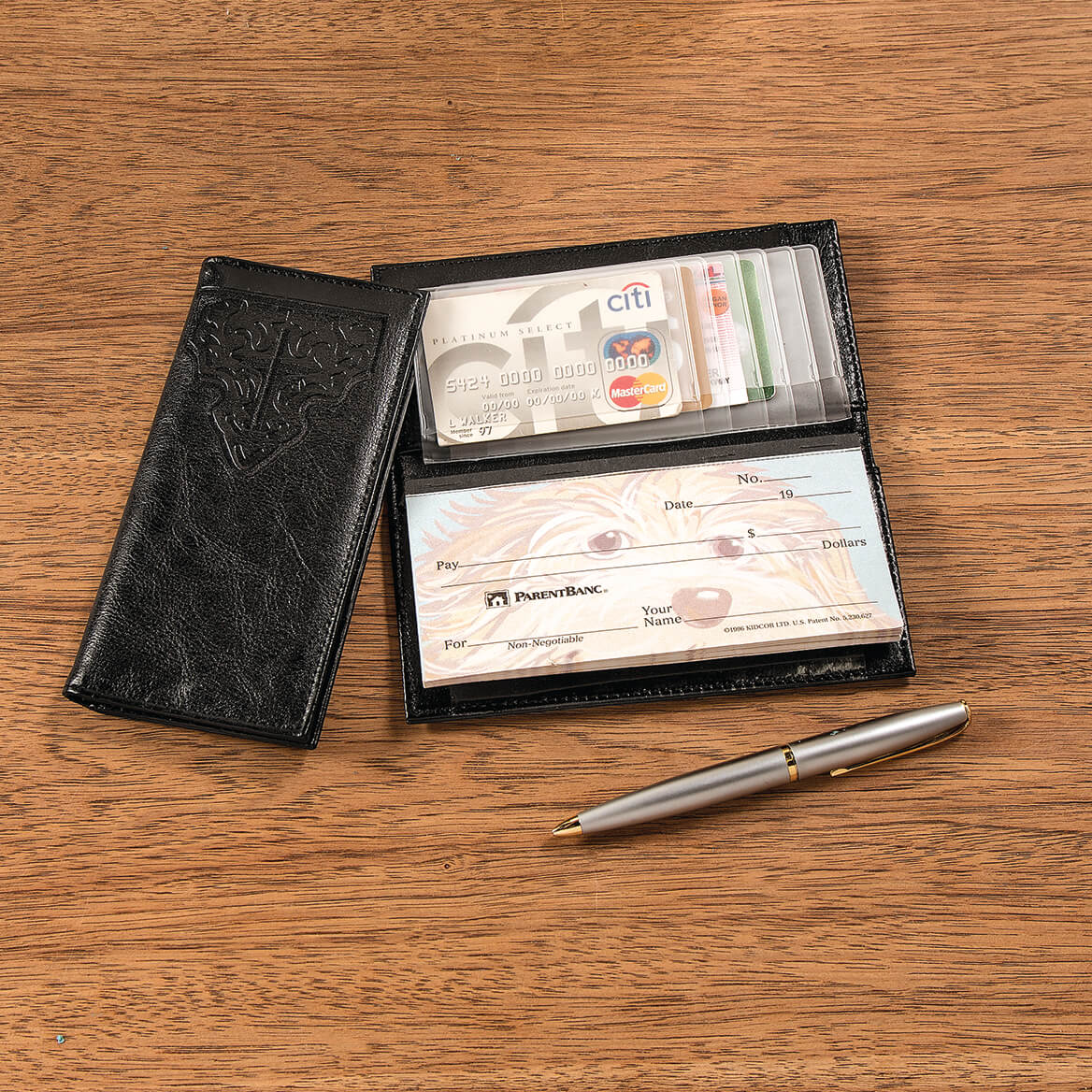 Inspirational Checkbook Cover Black-368350