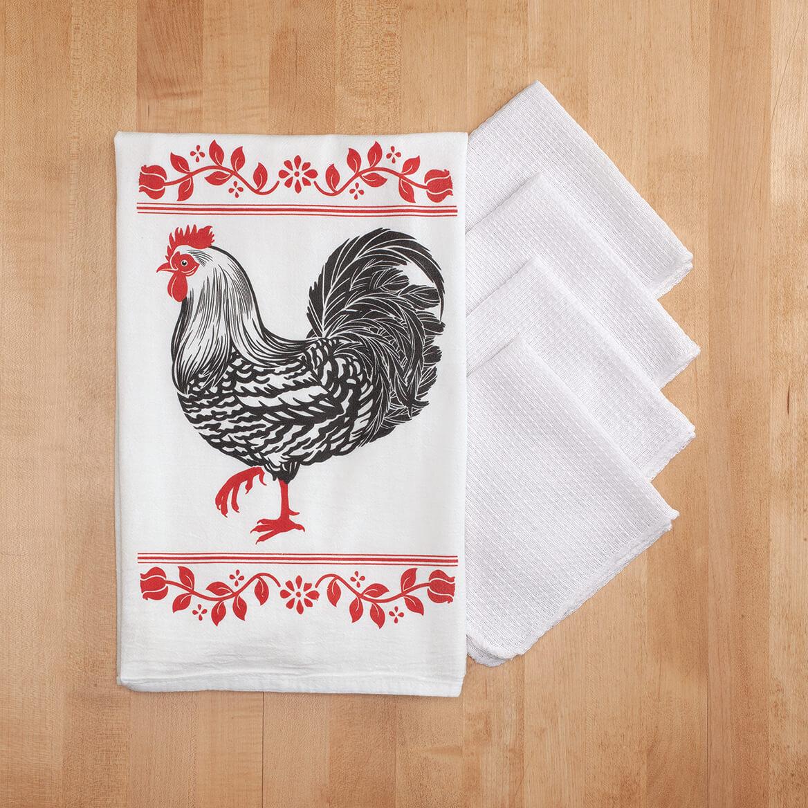 Barnyard Flour Sack & Utility Kitchen Towel Set-368401