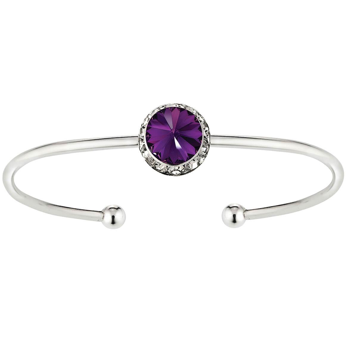 Swarovski Crystal Birthstone Cuff-368593