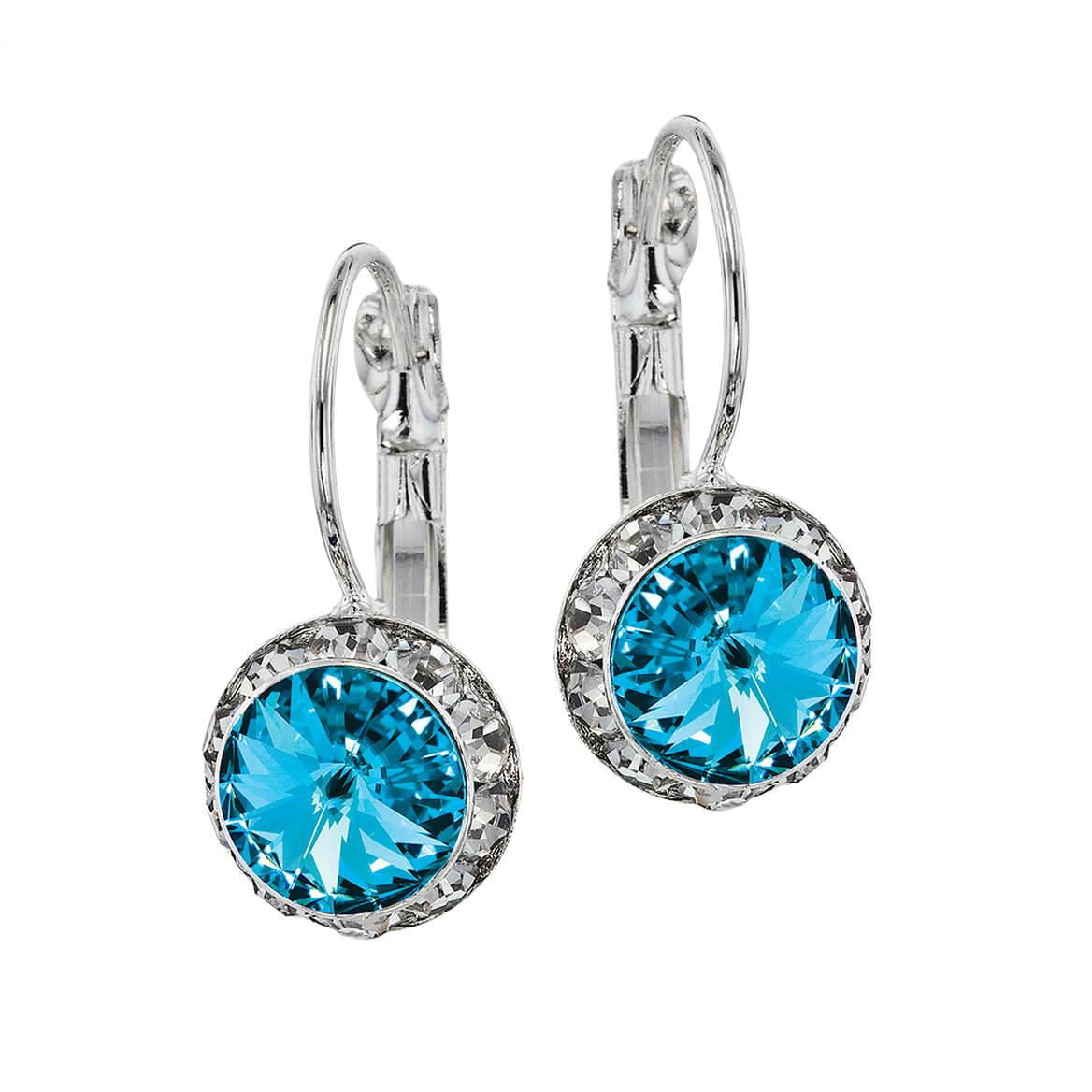 Swarovski Crystal Birthstone Wire Earrings-368594