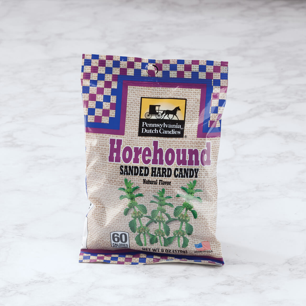 Horehound Sanded Candy, 6 oz.-368931
