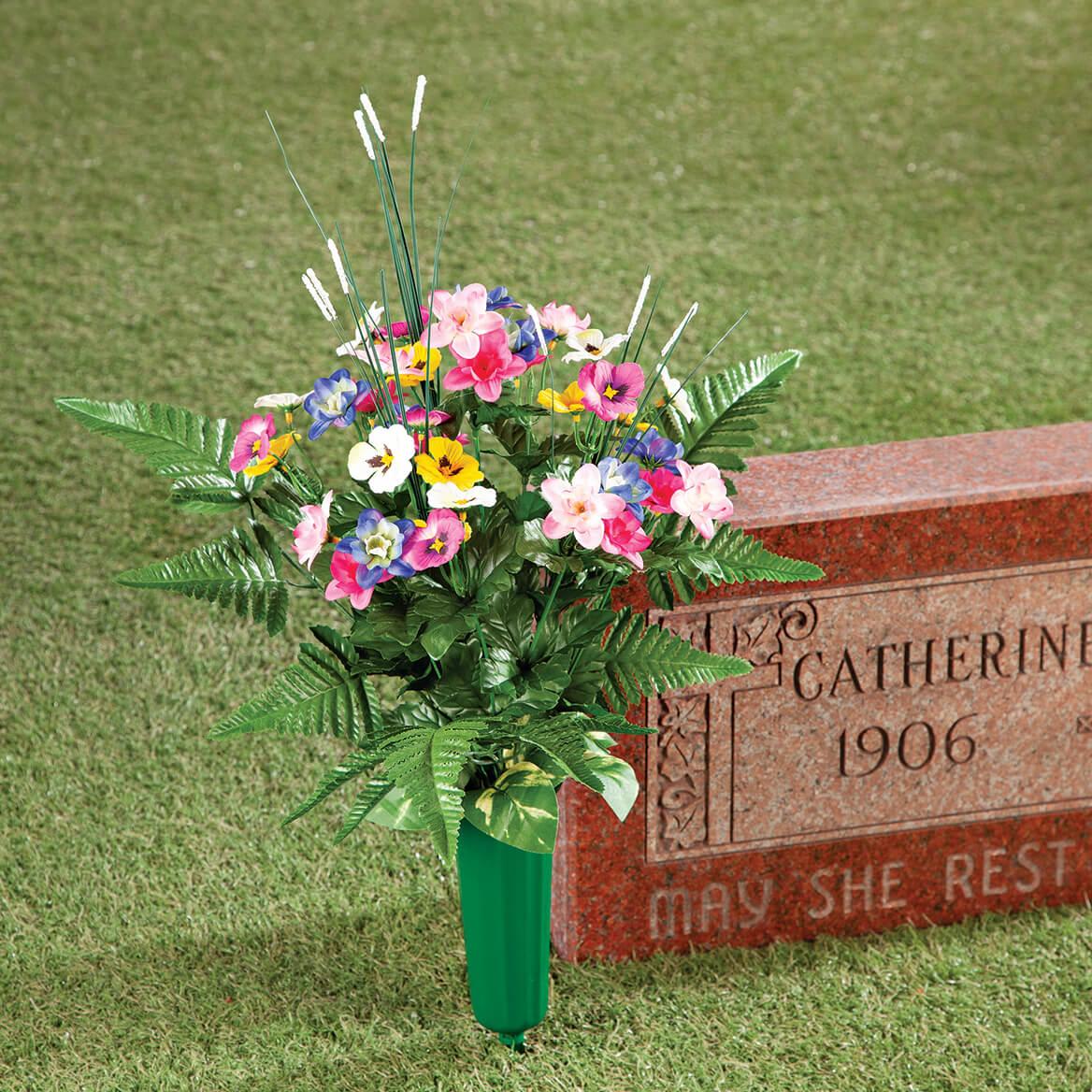 Pansy Memorial Bouquet by OakRidge™-369051