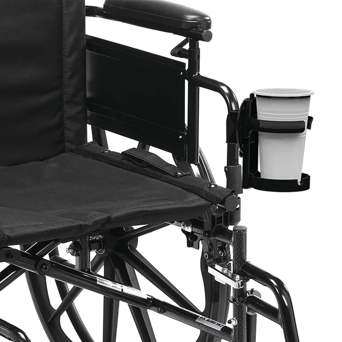 Mobility Cup Holder with Adjustable Height and 360° Rotation-369093