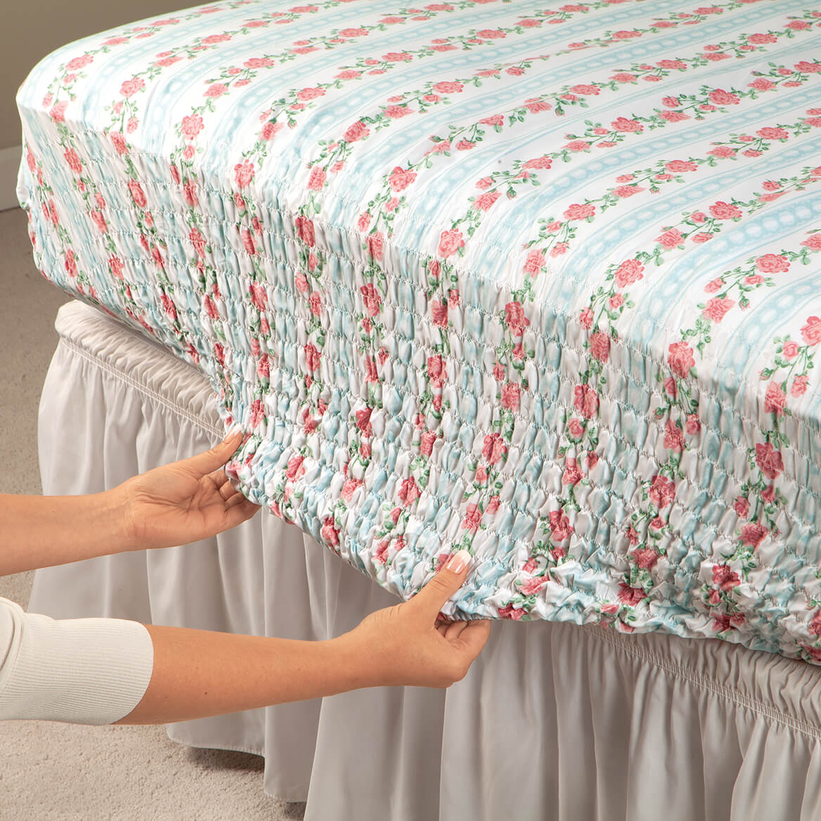 Lady Oxford Microfiber Bed-Tite™ Sheets by Oakridge®-369225