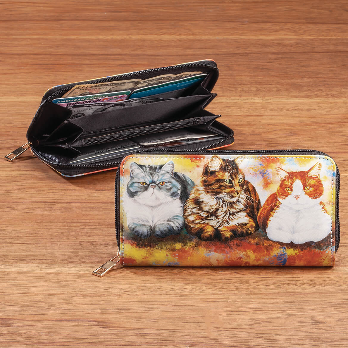 Designer Wallet Cats-369373
