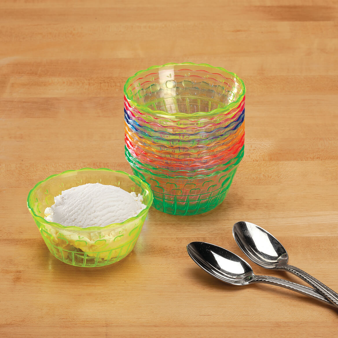 Rainbow Dessert Cups set of 12-369401