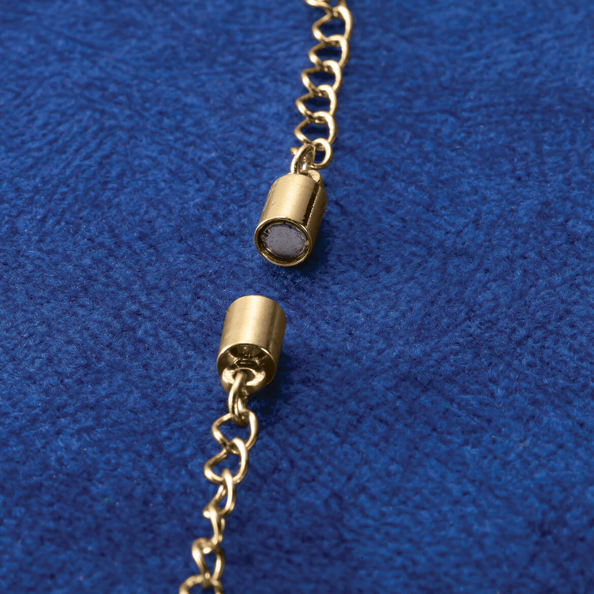 Pearl & Chain Magnetic Necklace Extenders Set of 4-369415