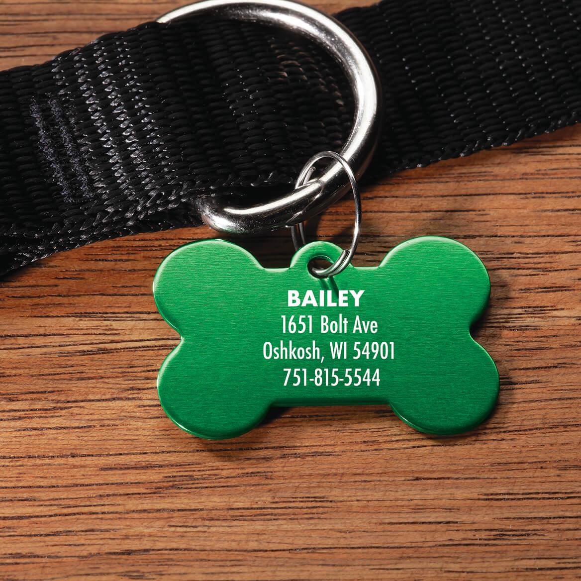 Personalized Bone-Shaped Pet Tag-369473
