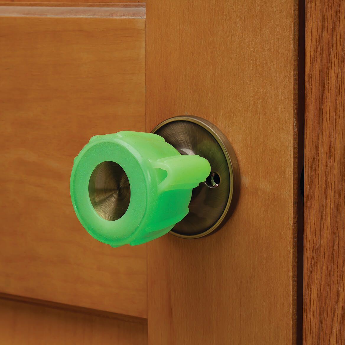 Glow-in-the-Dark Knob Grippers, Set of 2-369649