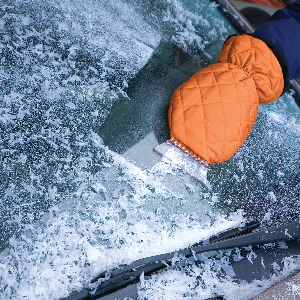 Ice Scraper Mits, Set of 2-370358