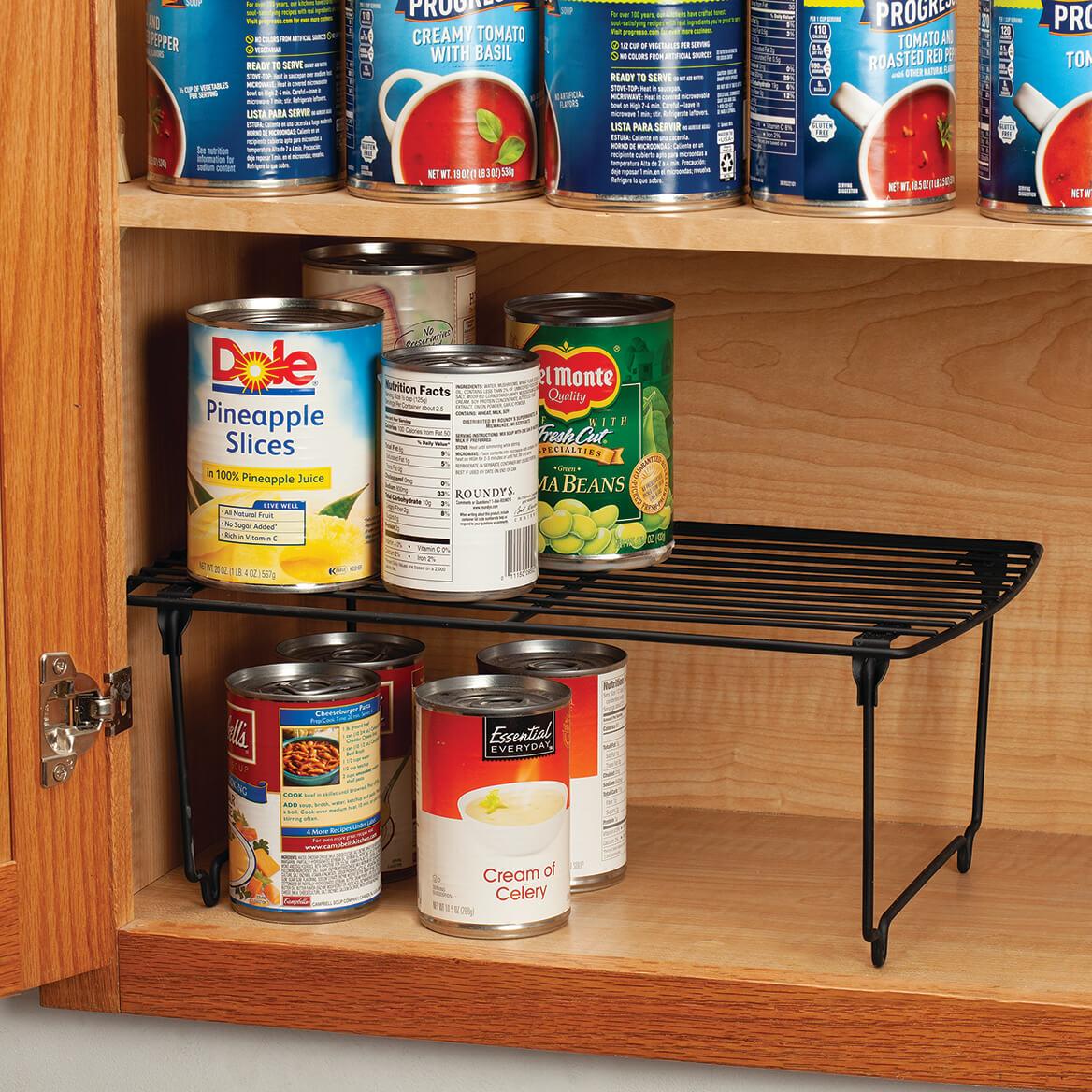 Folding Black Wire Storage Shelf-370372