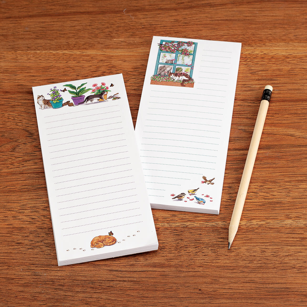 Set of 2 Cat Notepads-370463