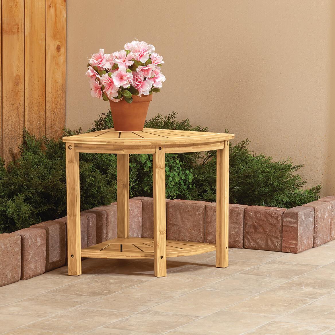Bamboo Corner Bench-370472