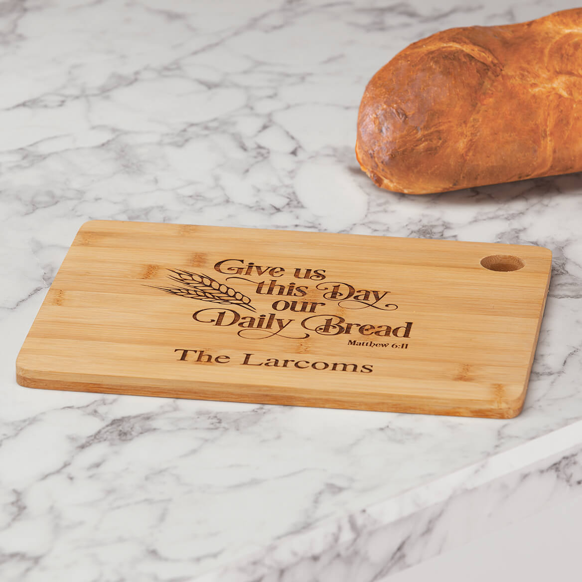 Personalized Daily Bread Cutting Board-370585