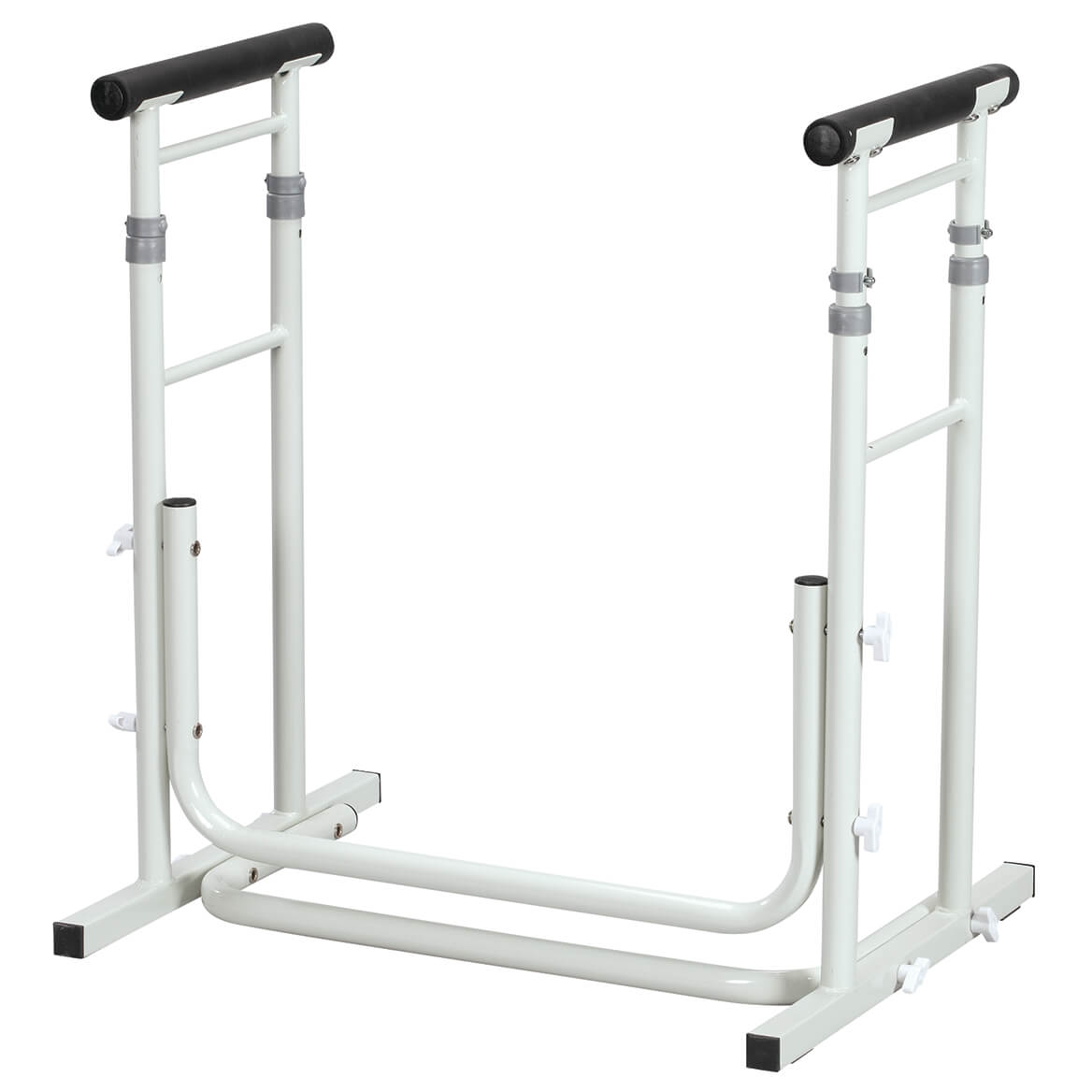 Free Standing Toilet Safety Support with Adjustable Arms-370685