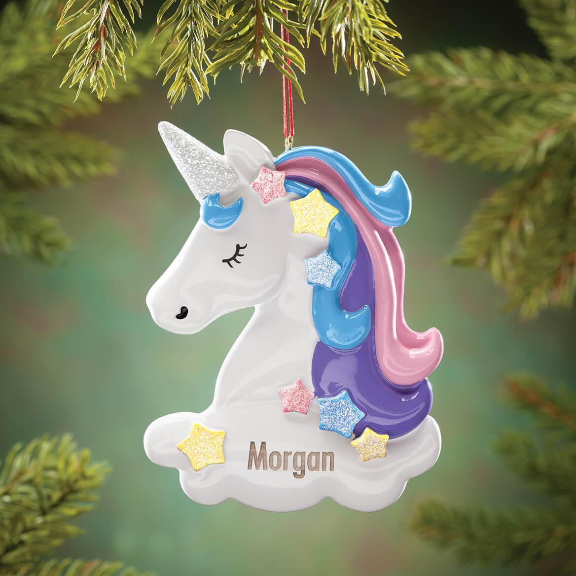 Personalized Unicorn Ornament-370705