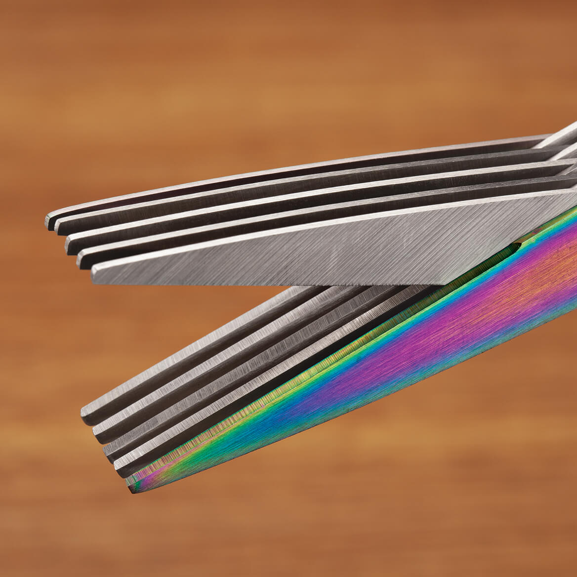 Titanium Rainbow Shredding Scissors-370714