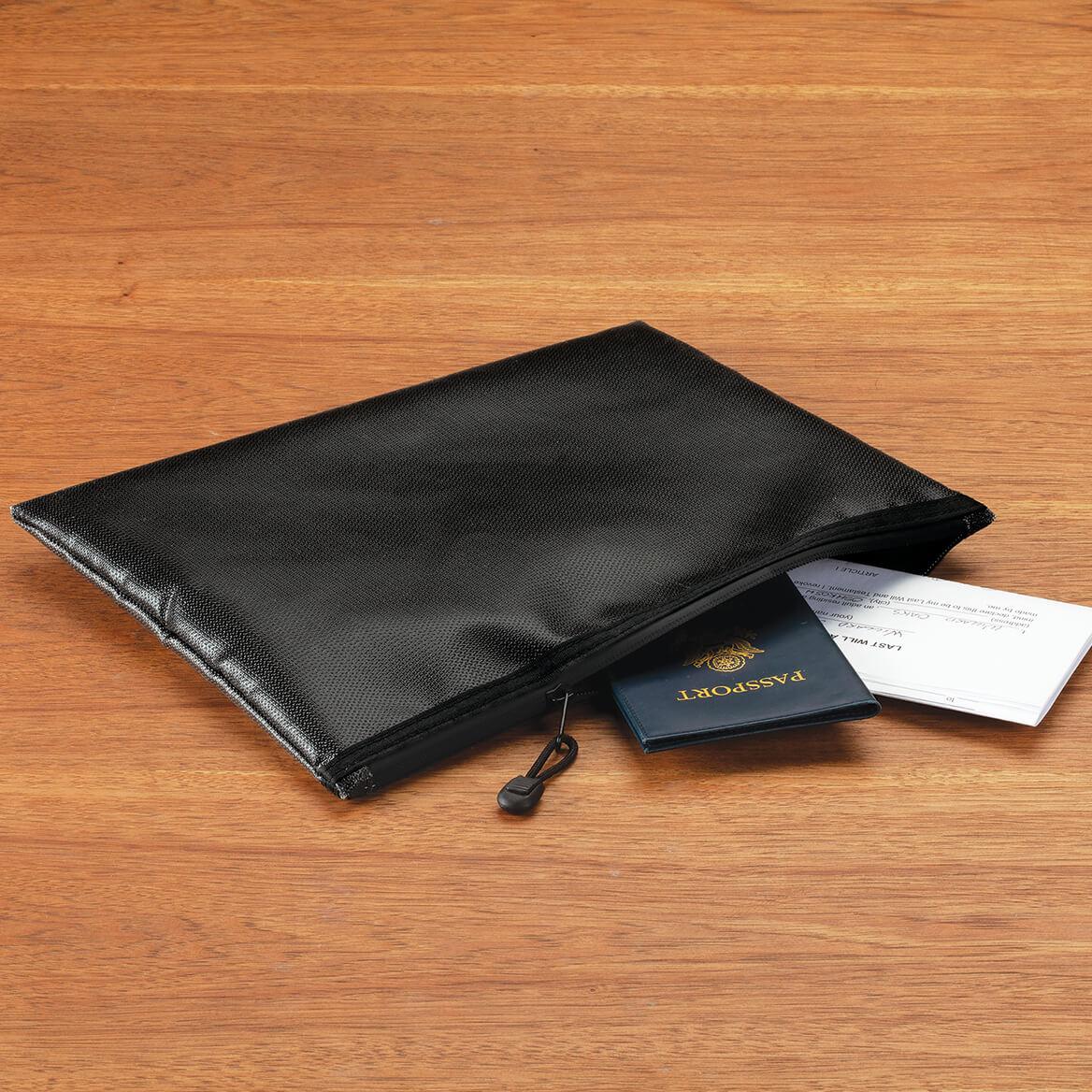 Fire & Waterproof Zippered Document Bag-370715