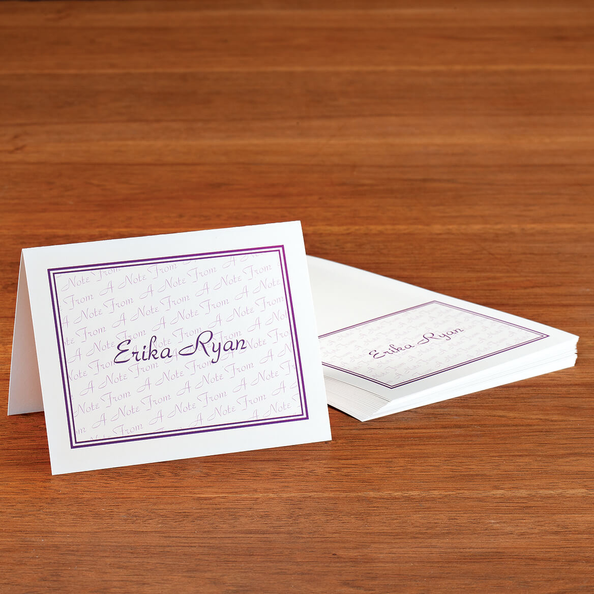Personalized A Note From Note Cards Bright set of 20-370804