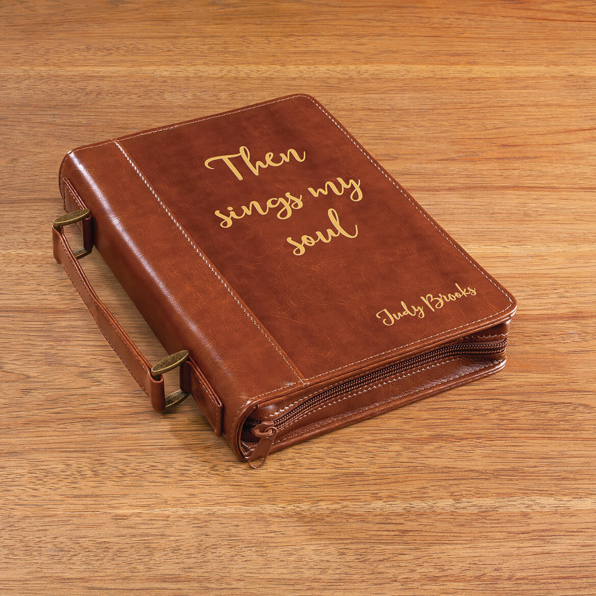 Personalized Brown Bible Case-370846