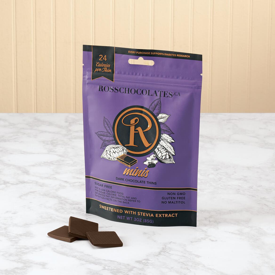 Ross Chocolates Sugar Free Dark Chocolate Minis-370910