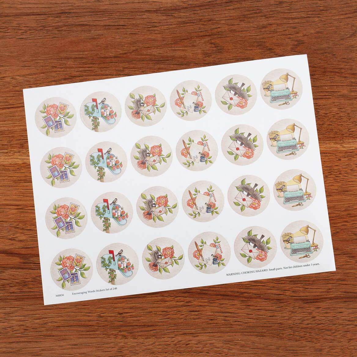 Correspondence Stationery Seals Set of 48-370915