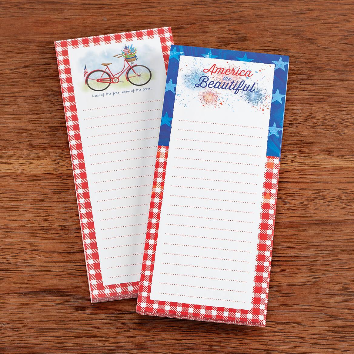 Patriotic Note Pads Set of 2-370930