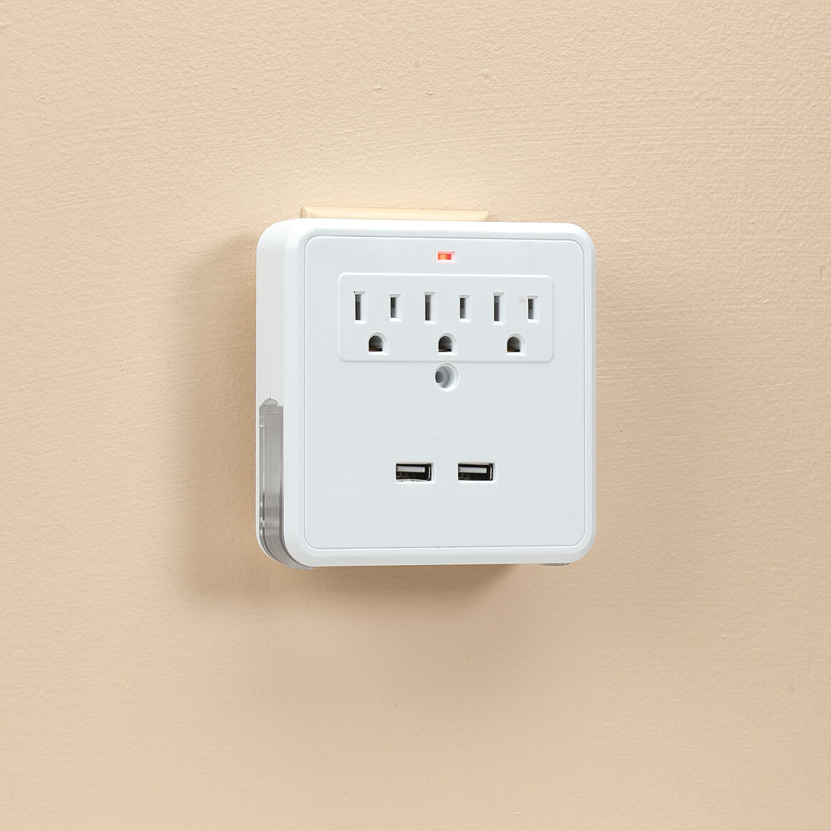 Living Sure Charging Station with USB Ports and Surge Protector-370941