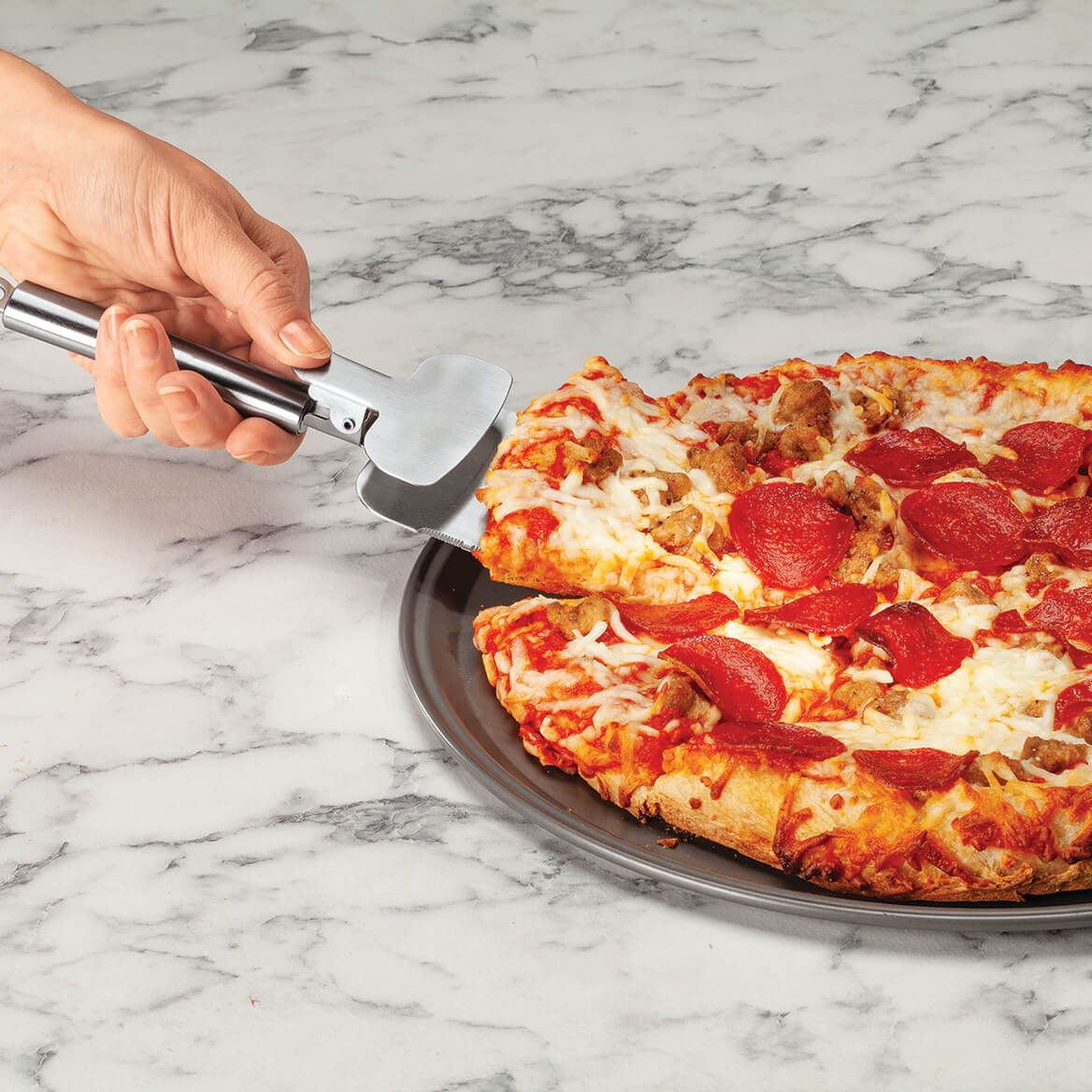 Multi-Function Pizza Cutter & Server-371099