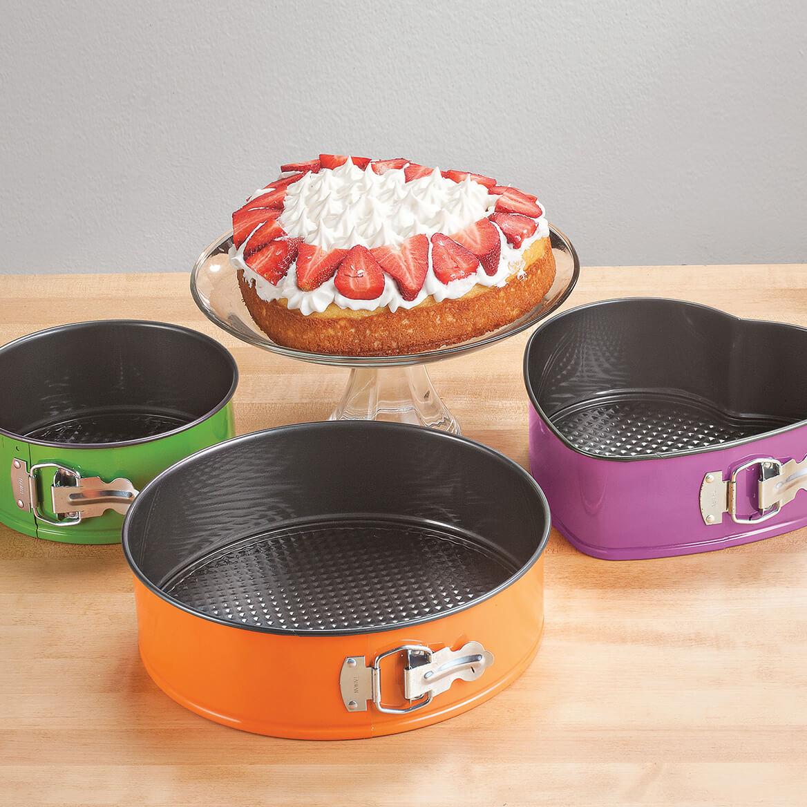 Colorful Springform Pans, Set of 3-371111