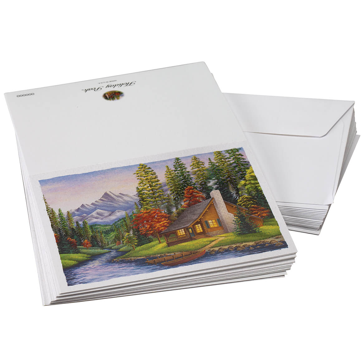 Landscape Note Cards Set of 20-371157