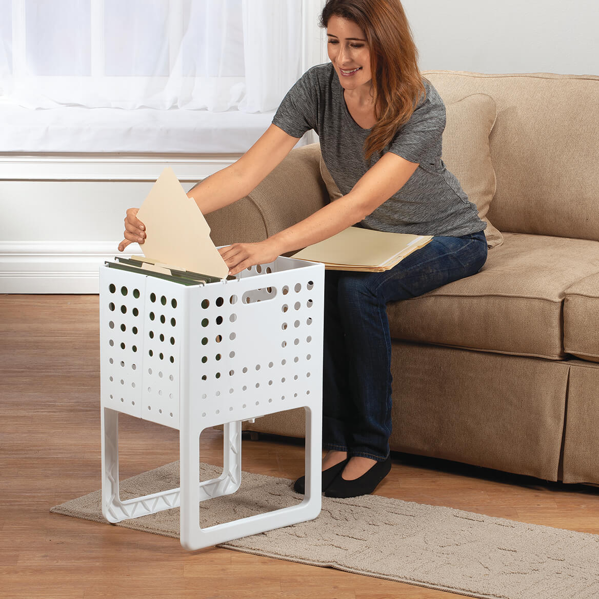 Collapsible Storage Crate-371185