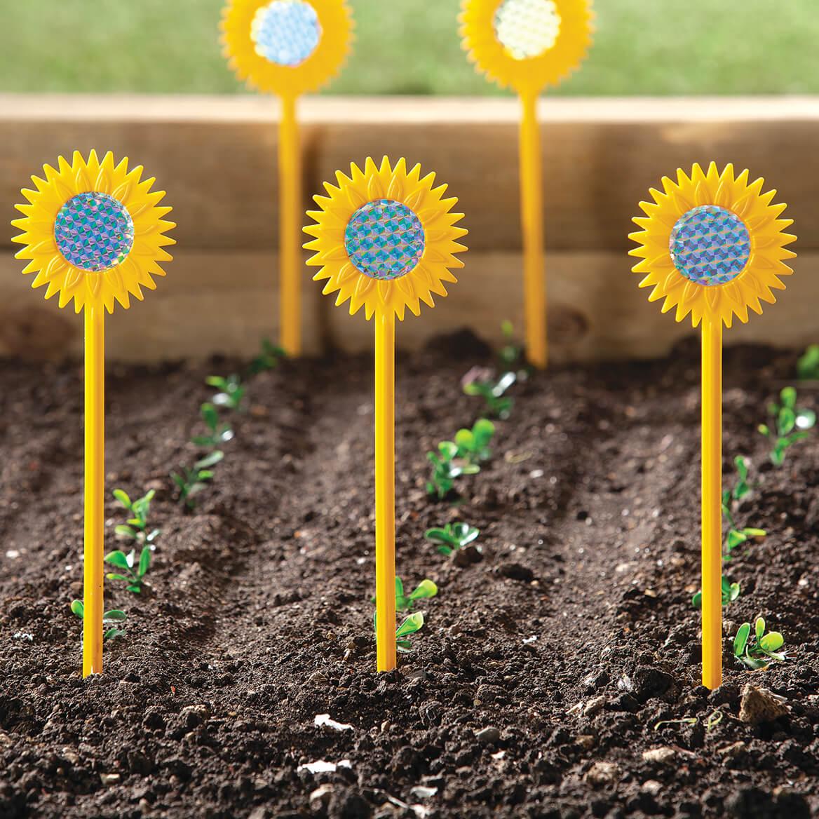 Sunflower Garden Protectors, Set of 6-371207