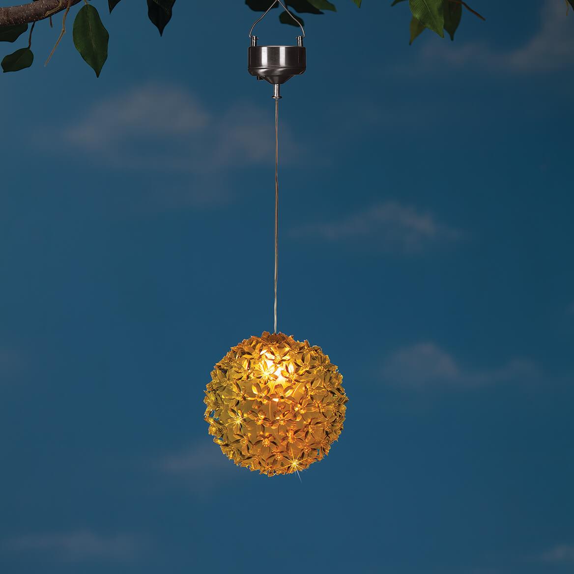 Solar Color-Changing Hanging Flower-371316