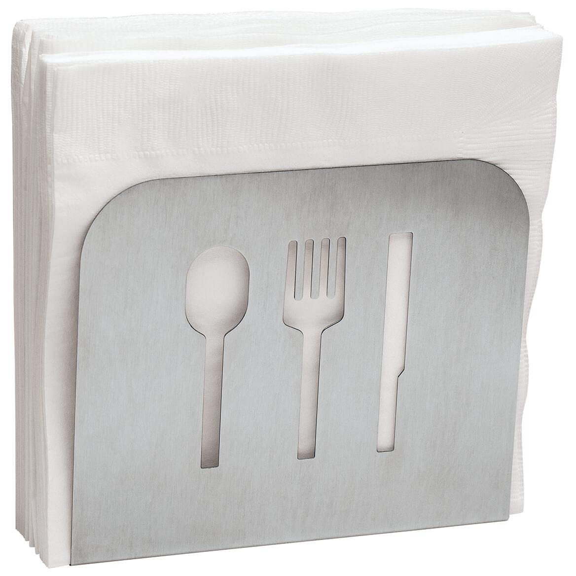Stainless Steel Napkin Holder-371393