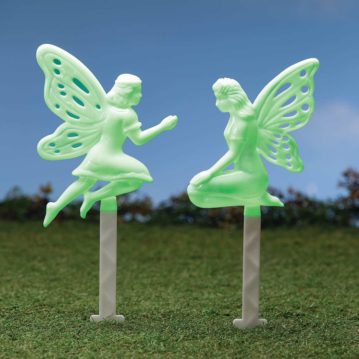 Glow-in-the-Dark Fairy Stakes, Set of 2-371401