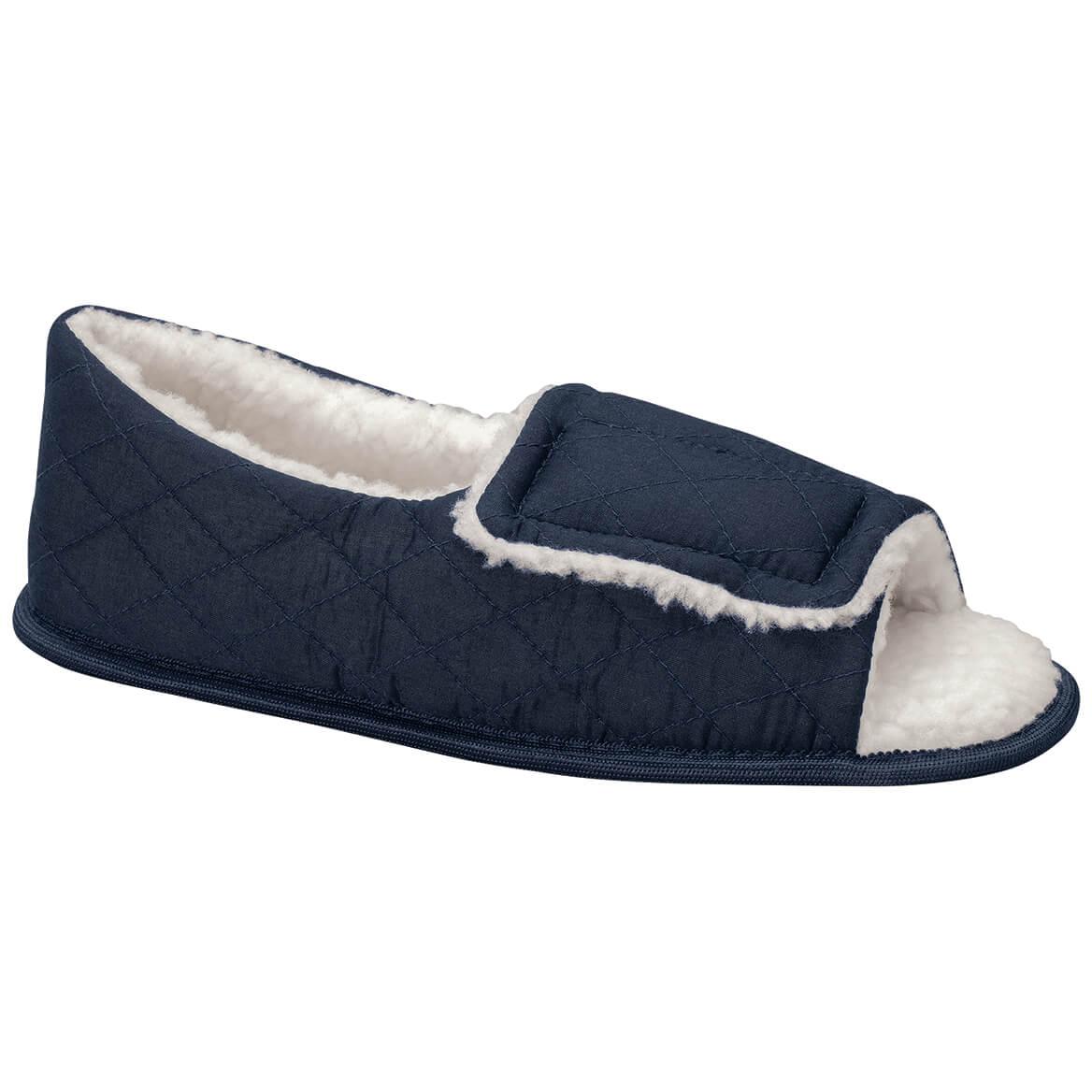 Silver Steps™ Open Toe Edema Slippers Mens-371669