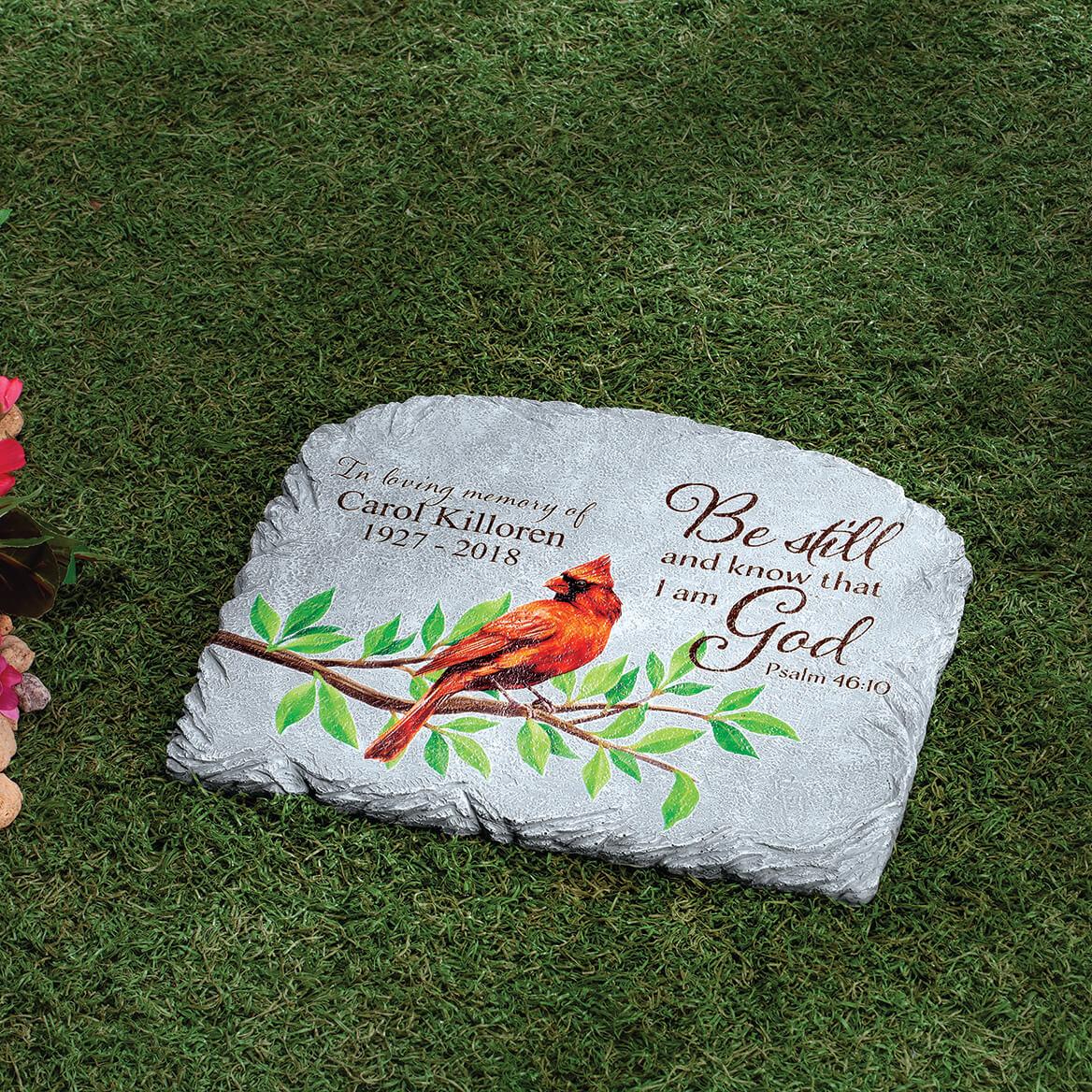 Personalized Cardinal Memorial Garden Stone-371681