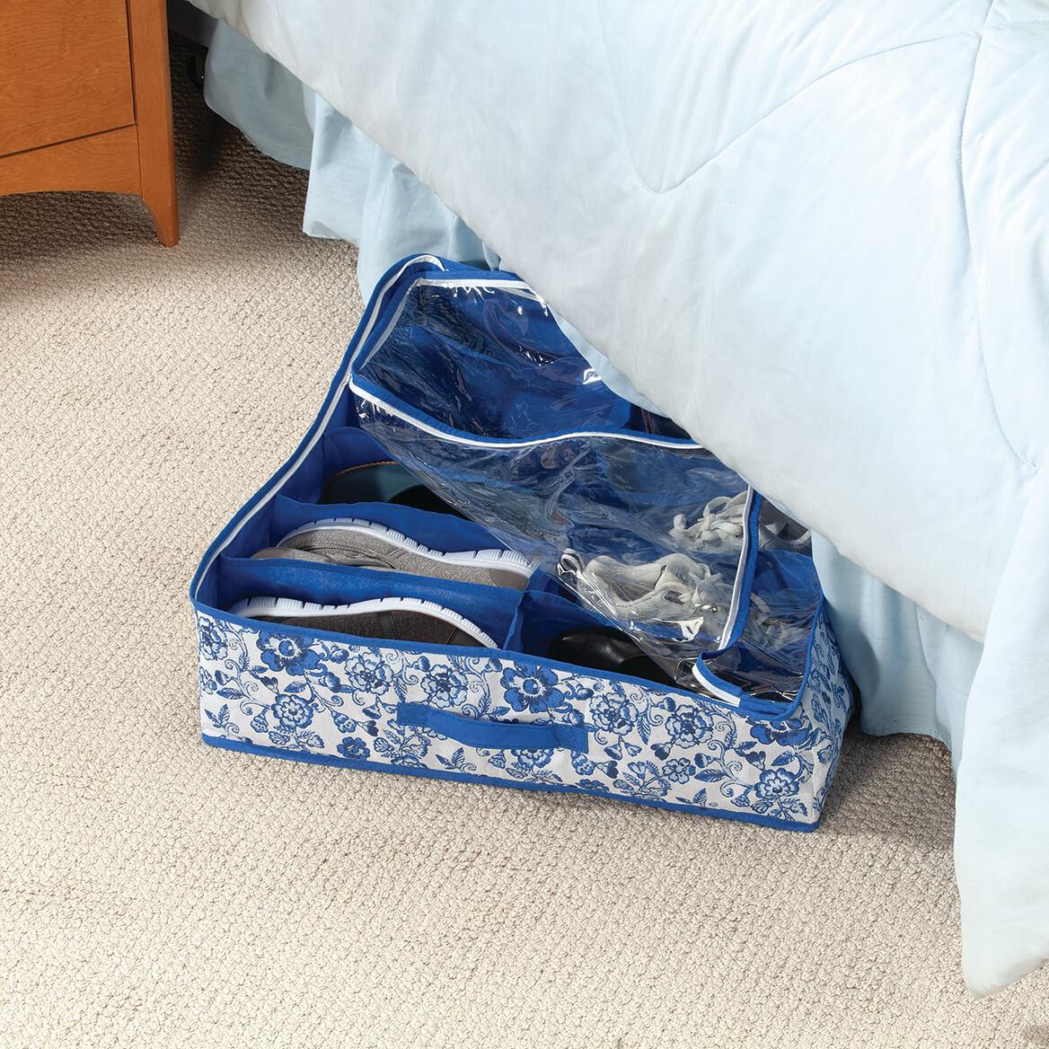 Blue Print Underbed Storage Bag-371692