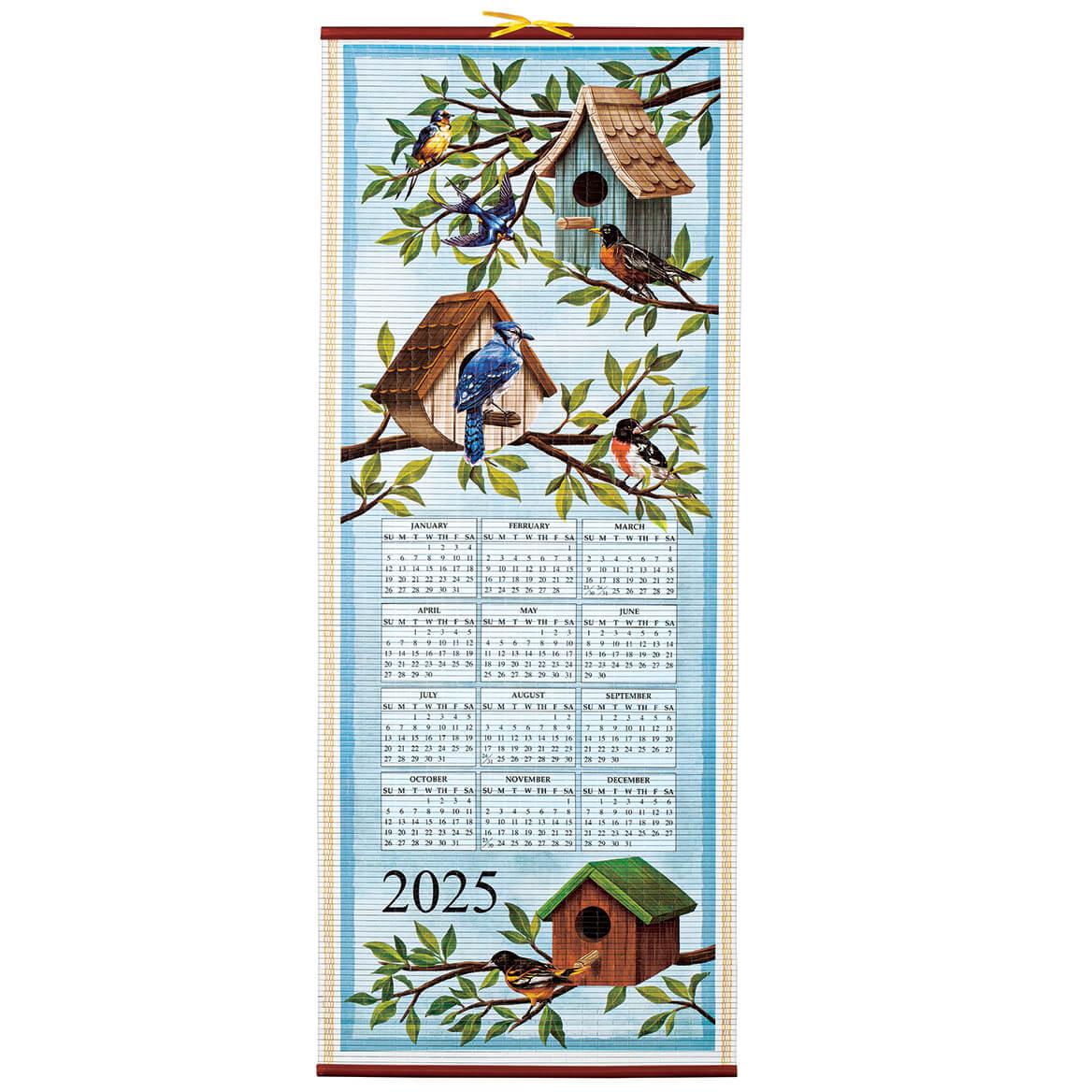Birds Houses Scroll Calendar-371695