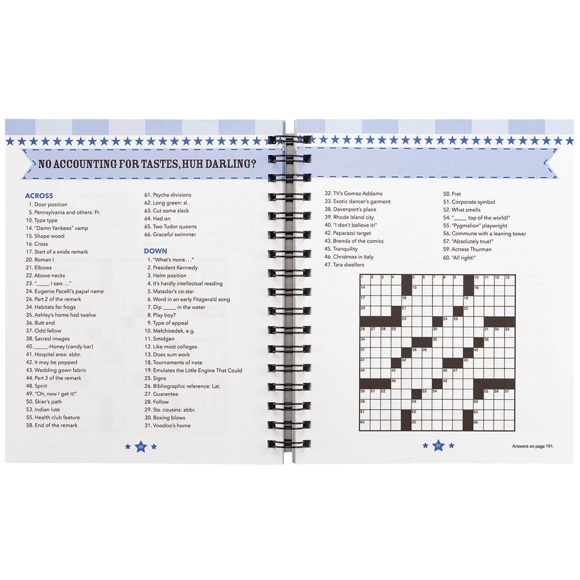 Brain Games® Star Banner Crossword Puzzles-371701