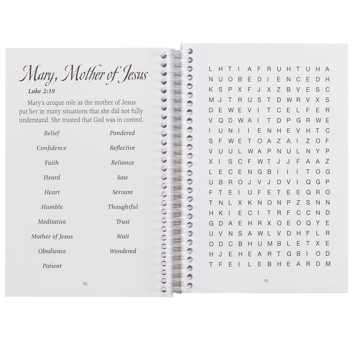 Word Puzzles Based on Women of the Bible Book-371708
