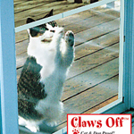 Claws Off™ Patio Screen Door Protector