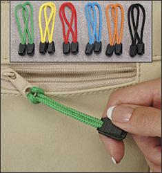 Zipper Pulls Set of 12